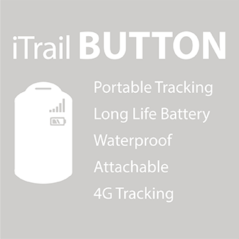 iTrail BUTTON 4G small portable child or asset tracker