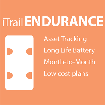 iTrail Endurance asset tracker with long battery life