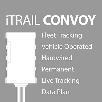 iTrail CONVOY hardwired for fleet tracker